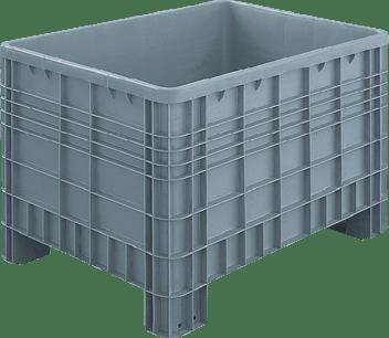 Pallet e contenitori in plastica per settore gdo for Vasche in plastica per giardino