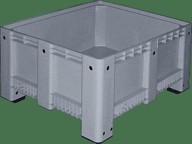 Contenitori e pallet in plastica per settore elettrodomestico for Contenitori per esterni in plastica