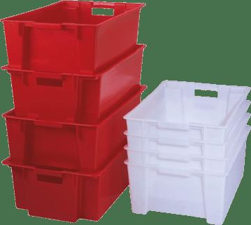 Pallet e contenitori in plastica per settore tempo libero for Contenitori per esterni in plastica